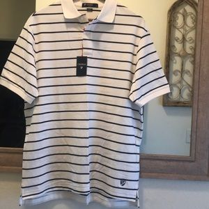 Cremieux Classics Stripe Collar Shirt